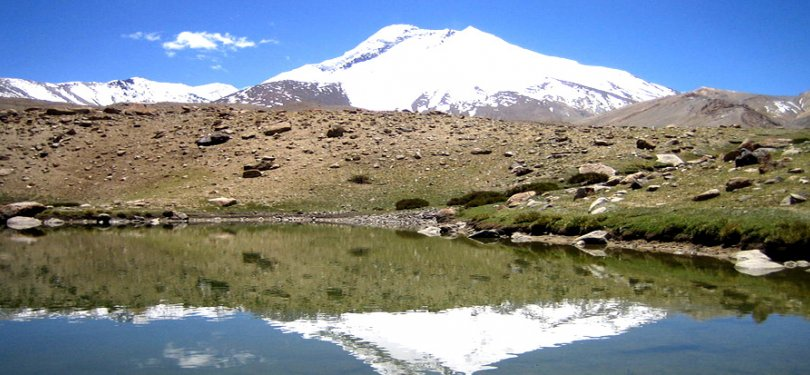lake on way to markha valley