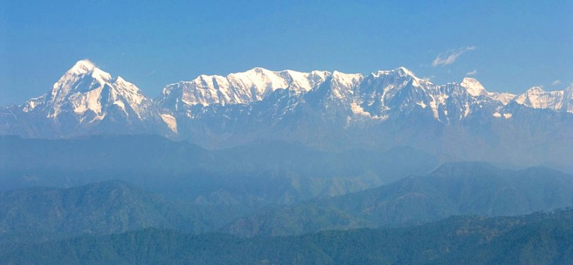 Kausani Valley View