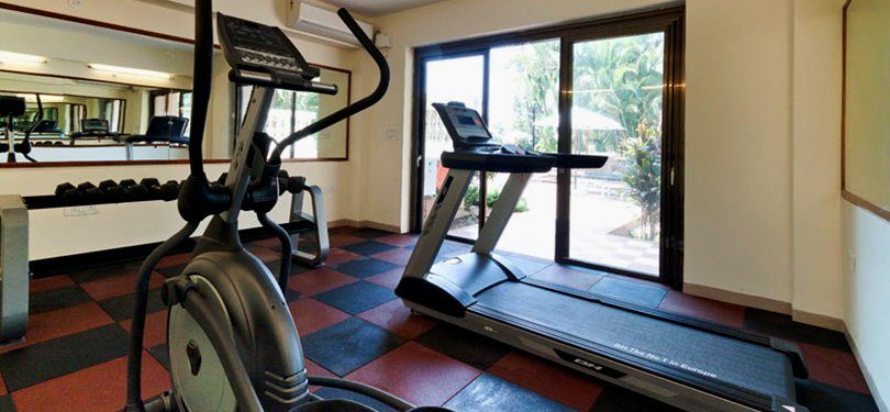 Sea Shell Beach Suite fitness centre and gym