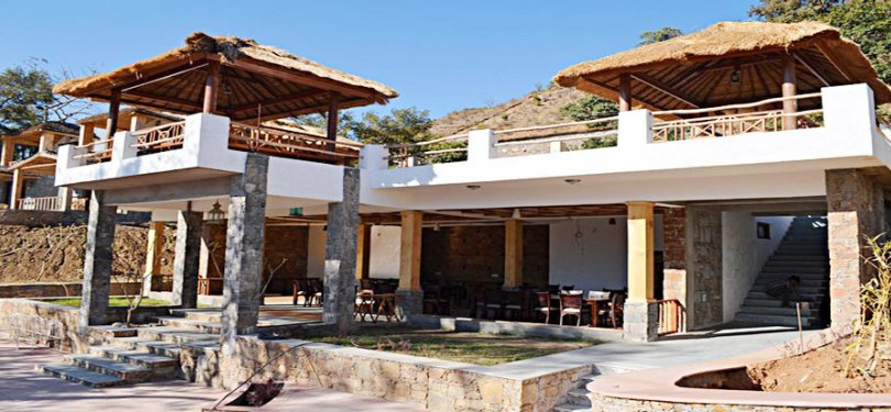 Kumbhalgarh Forest Retreat Guest Area