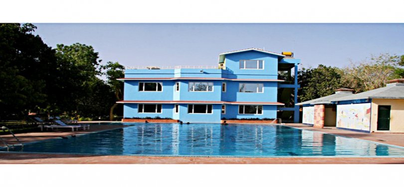 Amantra Shilpi Resort Pool n Building View