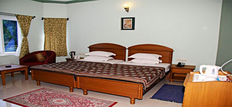 Amantra Shilpi Resort Twin Bed Comfort Room