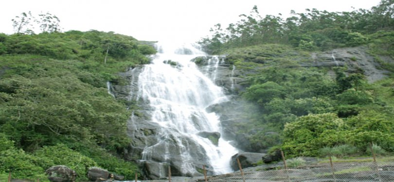Ayur County Resort Power House Waterfall