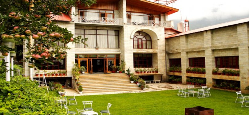 Manali Heights Exterior View