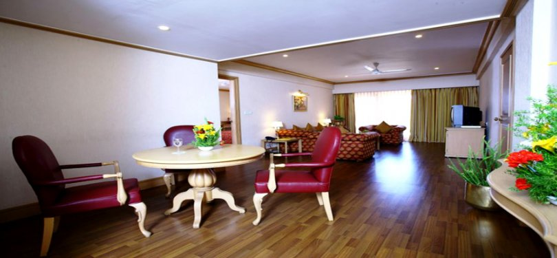 The Carlton Kodaikanal Living Room