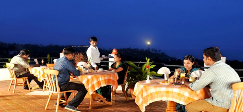 Swagath Holiday Resort Rooftop Dining