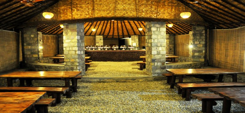 Corbett Machaan Resort Dining Hall