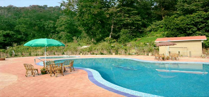 Corbett Tiger Den Resort Swimming Pool