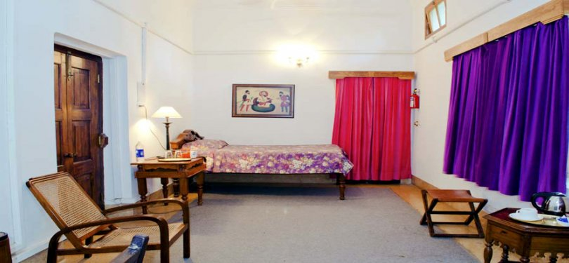 The Baradari Palace Double Bedroom
