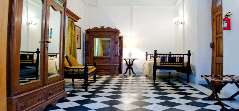 The Baradari Palace Room Interior