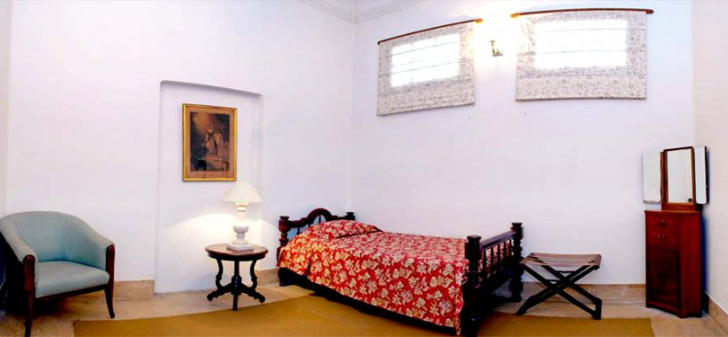 The Baradari Palace Single Bed Room