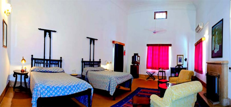 The Baradari Palace Twin Bedroom