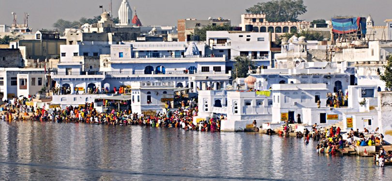 Famous Pushkar Lake