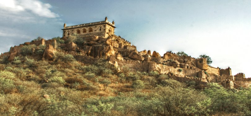 Golconda Fort  Hydrabad