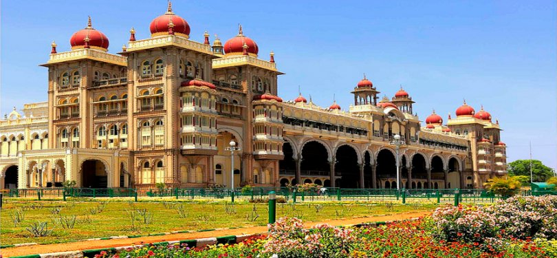 Mysore Palace Standing Tall