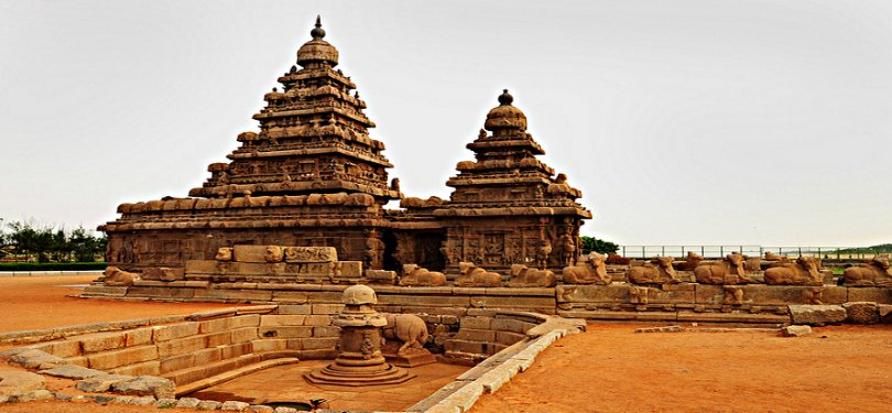 The Shore Temple Mahabalipuram Tamil Nadu