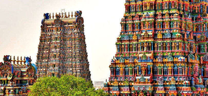 Veiw of Sri Kapaleeswarar Temple