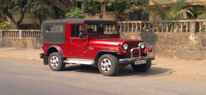 Goa package with Thar Jeep