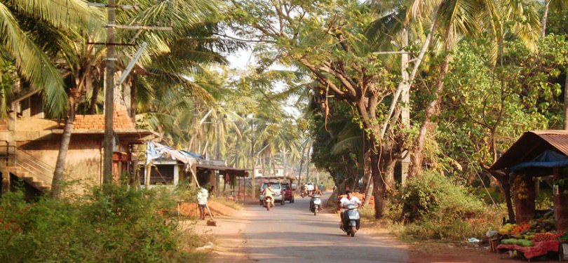 Goa Village View