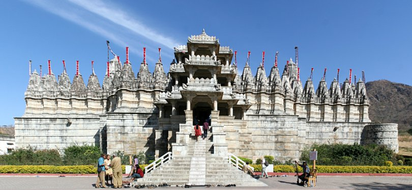 Chaumukha Temple in Ranakpur