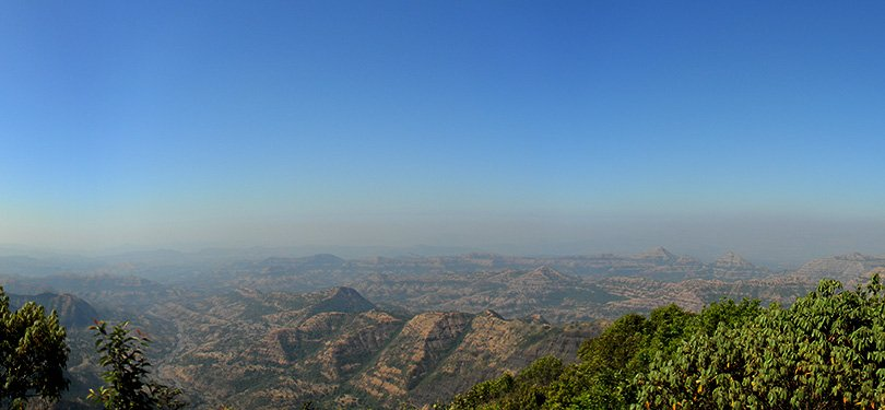 Attractive Veiw of Mahableshwar
