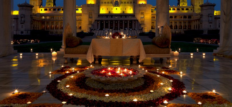 Umaid Bhawan Palace Private Dining