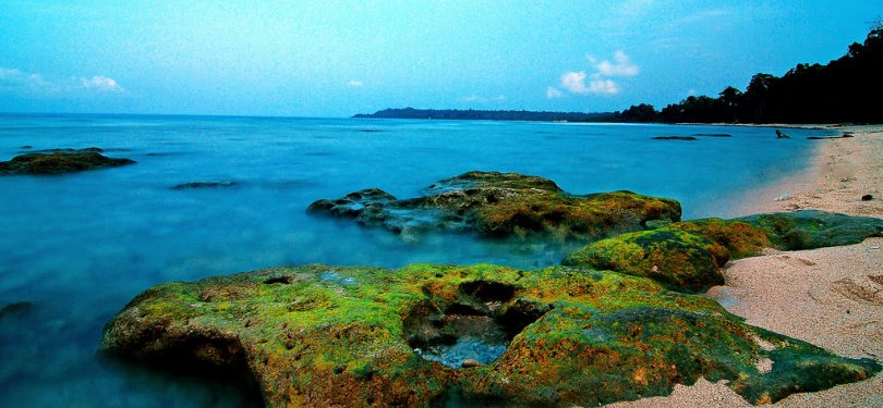 Small Island in Port Blair