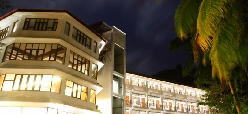 Hotel Sentinel Facade Night View