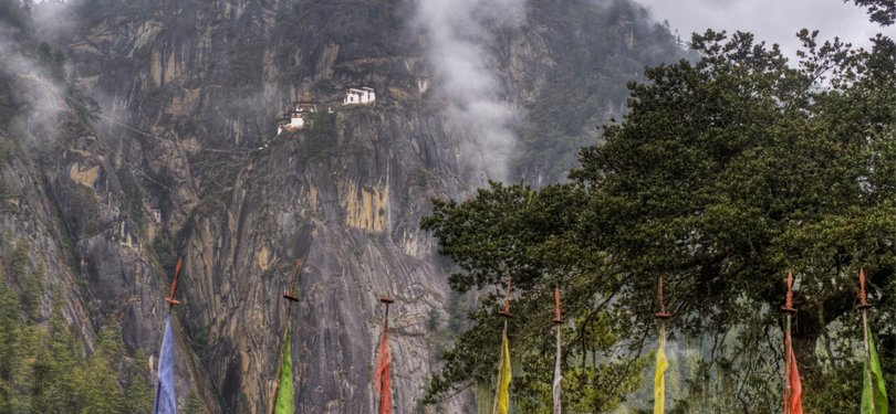 "Taktsang Monastery - called ""Tiger's Nest"""