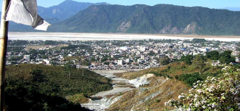 Phuentsholing Aerial View