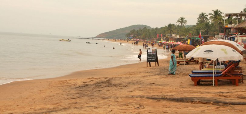 Goa Tour Anjuna beach