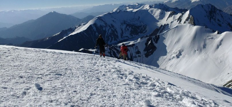 Trekking for Stok Kangri