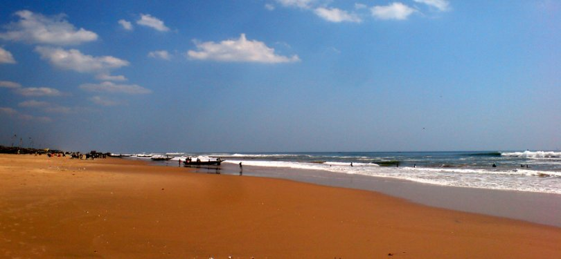 Stretch of Golden Beach Puri