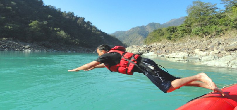 Adventure in Rishikesh