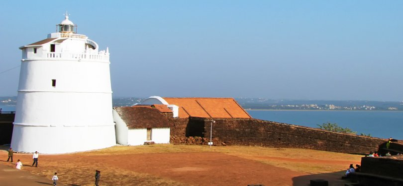 Goa Tour fort aguada light house