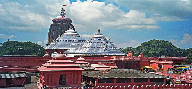 Famous Jagannath Temple at Puri