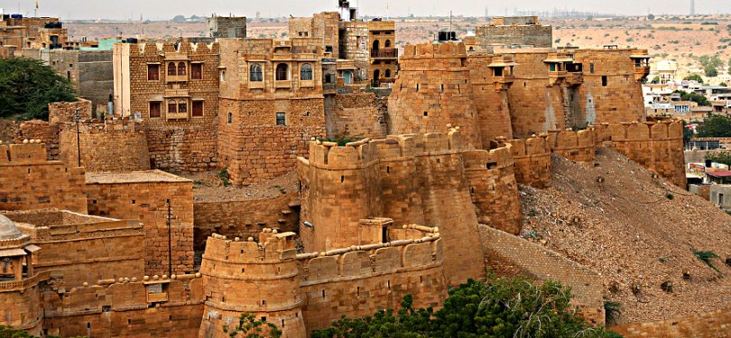 Magnificent Jaisalmer fort in Rajasthan