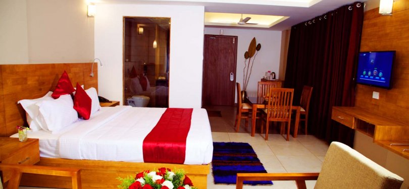 The Munnar Queen Luxury Room