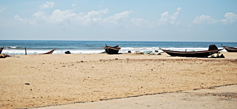 Beach in Tamil Nadu