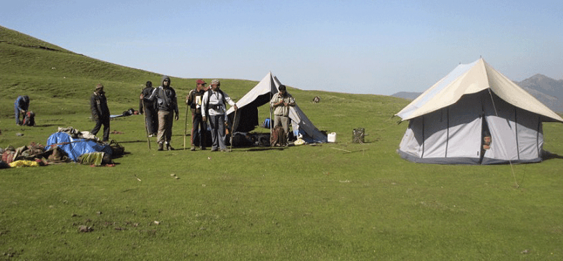 roopkund camping ground