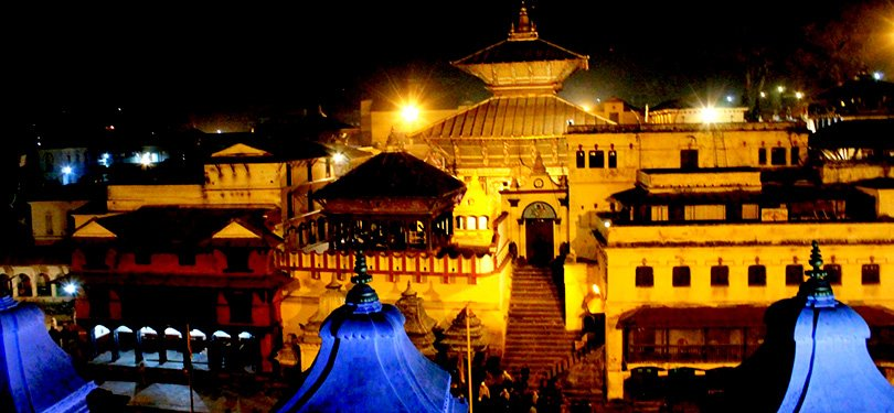Pashupatinath Mandir Night View