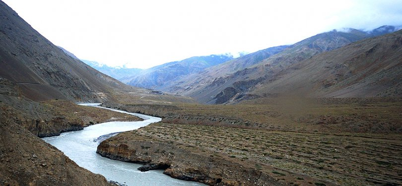Spiti River on Pin Parvati trek
