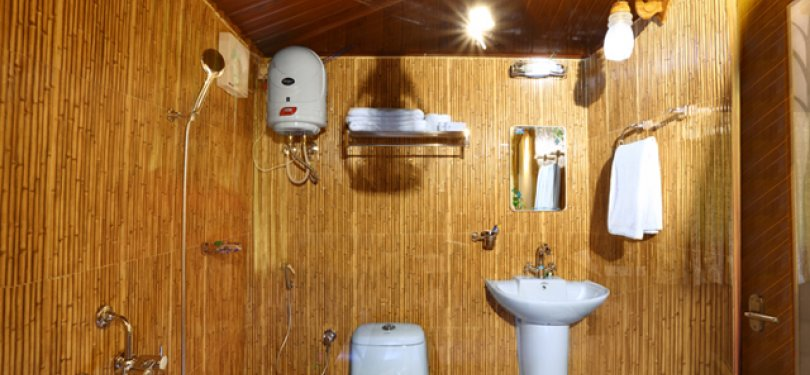 Seven Spring Resort Tree House Washroom