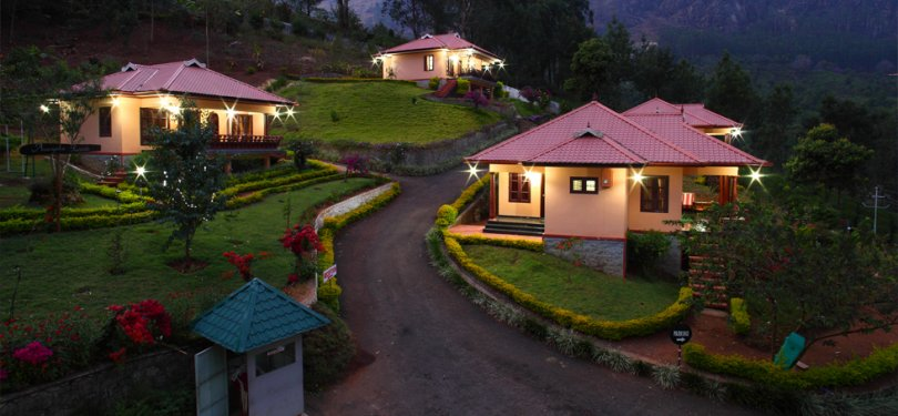 Aranyaka Resort evening View