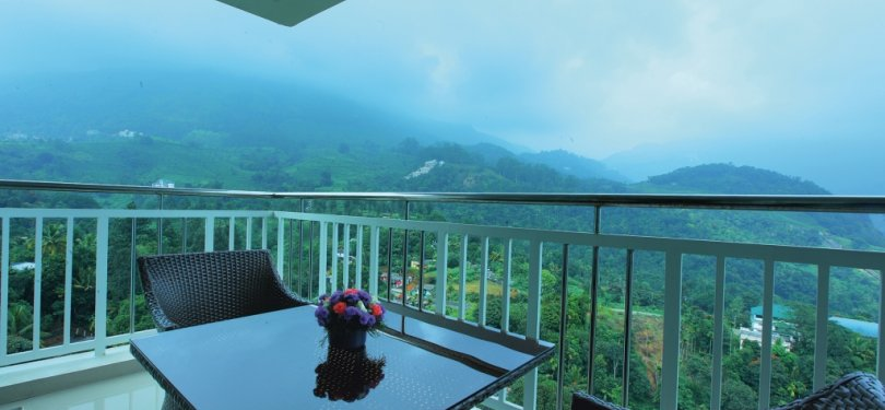 Orchid Highlands Balcony View