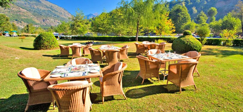 Span Resort & Spa Outdoor Dining