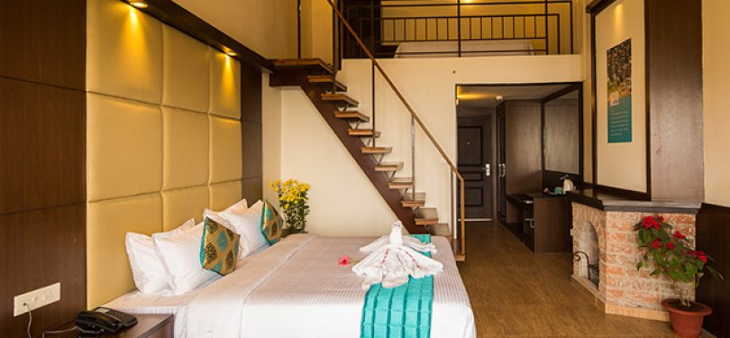 Sinclairs Retreat Kalimpong Premier Attic Room