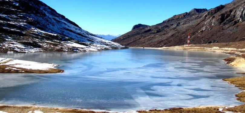 Famous Sela Lake In Tawang Valley
