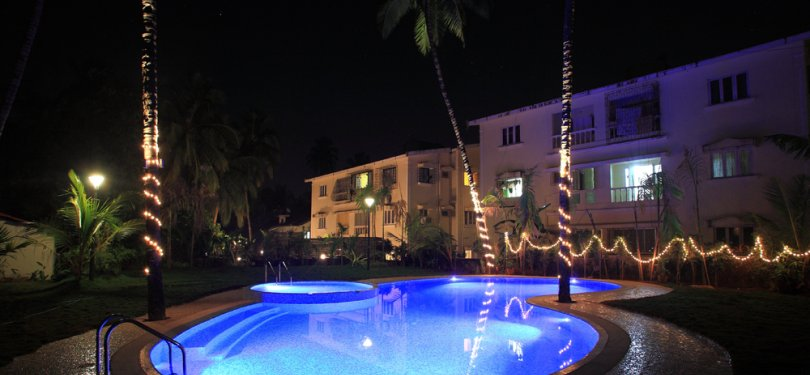 Godwin Resort Goa Night View